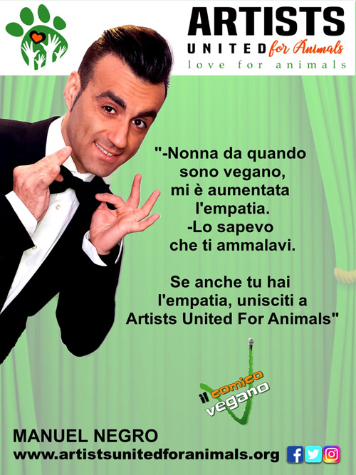 Maniuel Negro  - ARTISTS UNITED FOR ANIMALS