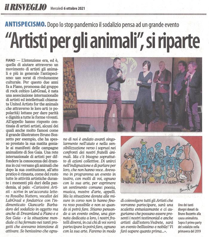 il-risveglio-06-10-2021-artists-united-for-animals-ripartenza